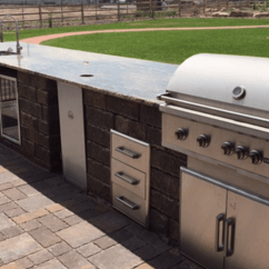Outdoor Kitchen Bbq Navy Blue Cabinets Premier Island Installer Serving Pueblo Canon Services For City Rye Beulah Colorado All Southern Homeowners