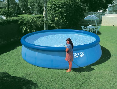 intex easy set pool review best above ground pools. Black Bedroom Furniture Sets. Home Design Ideas