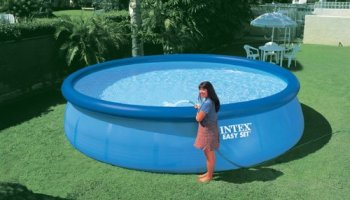 intex easy set above ground pool review - Intex Above Ground Pool Decks