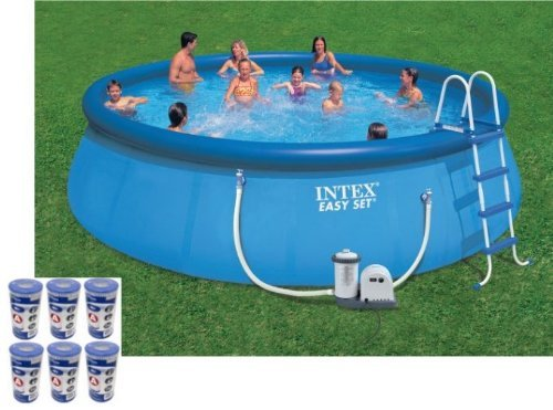 Intex easy set pool review best above ground pools for Best above ground pool reviews