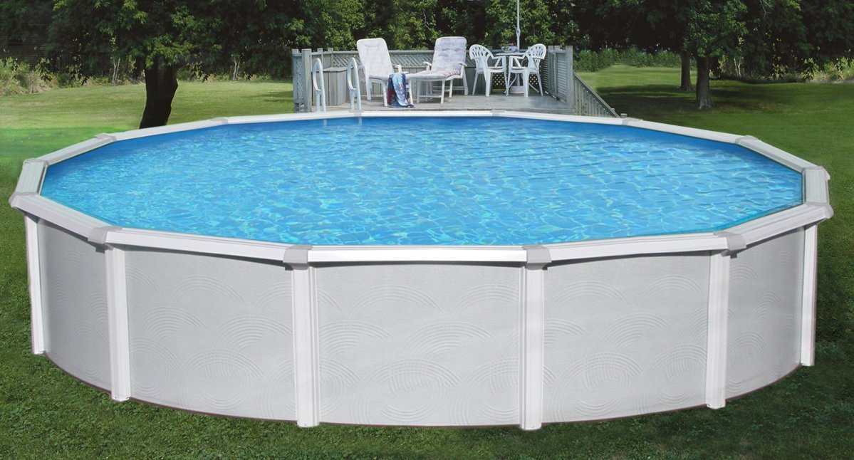 Samoan 18 52 steel above ground pool review best above - Above ground swimming pools reviews ...