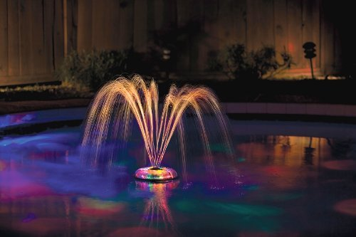 Best above ground pool fountain best above ground pools - Swimming pool fountains and lights ...