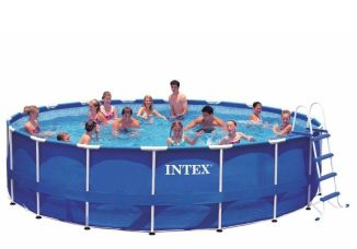 intex metal frame pool review