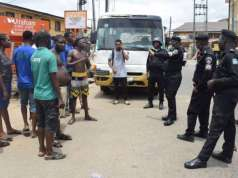 Arrested lockdown violators crowd Lagos police formation – officers