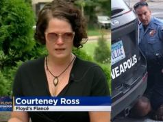 Slain George Floyd's Fiancée, Courteney Ross Has This to Say