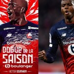 Victor Osimhen Voted Lille Player Of The Season