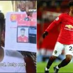 The Moment Man U Player, Angel Gomes Visited TB Joshua's Church In Nigeria For Healing