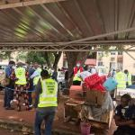 PHOTOS: Abuja COVID-19 Response Team Begins Strike Over Non-Payment Of Their Daily Allowances