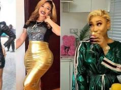 """May My Old Body Be Your Portion"" – Tonto Dikeh Curses Those Who Preach Against Cosmetics Surgery"