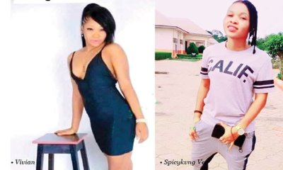 Lady Who Killed Her Lesbian Lover Over A Man Has Been Arrested At Her Hideout In Enugu (Photo)