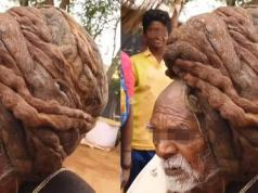 Longest Hair Ever! Meet The 95-Year-Old Indian Man That Has Never Cut His Hair (Video)