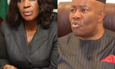 """""""I'm Contented With My Wife""""- Akpabio Denies Sexually Harassing Former NDDC Acting MD, Joy Nunieh"""