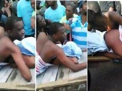 Boyfriend Gets Stuck Inside Married Women During S*x and Dragged Along the Street (Photos+Video)