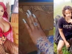 Actress Cossy Orjiakor Engaged To Her German Boyfriend