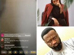 Singer, Cynthia Morgan Goes On IG Live To Demand For Her 'Money' From Jude Okoye (Video)