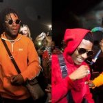 """""""You Have Nothing To Prove Again"""" – Burna Boy Praises Wizkid As They Linkup In London (Video)"""