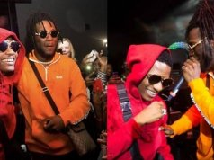 """You Have Nothing To Prove Again"" – Burna Boy Praises Wizkid As They Linkup In London (Video)"