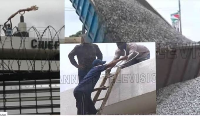 Breaking News: Edo House Of Assembly Roof Dismantled, Mace Taken Down