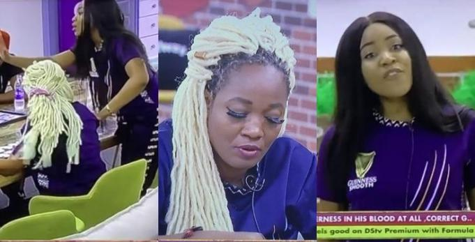 """BBNaija2020: """"Carrying Mop On Your Head Like A Clown That You Are"""" – Erica Slams Lucy"""