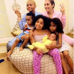 Wow! Actress, Regina Daniels Appears With Her Co-Wife And Their Kids In New Photos