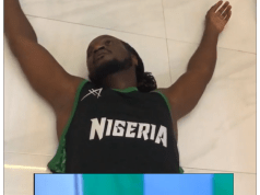Musician Paul Okoye Faints! After Listening To President Buhari's Speech