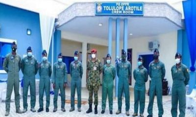 NAF Names Buildings After Arotile, Eight Other Deceased Officers