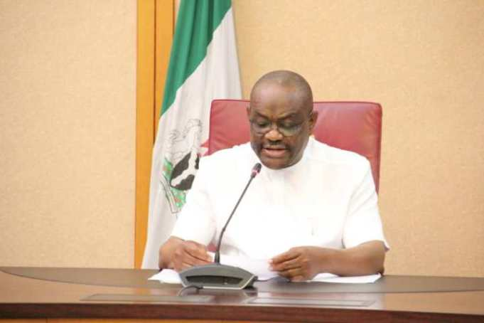 A STATE-WIDE BROADCASTBY GOVERNOR NYESOM WIKE.