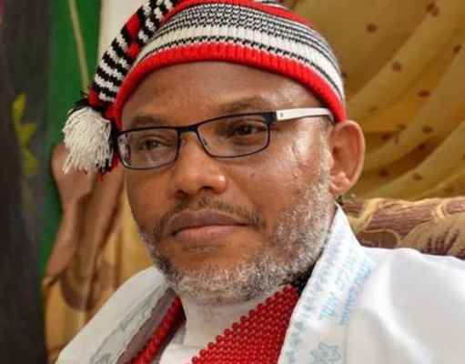 Nnamdi Kanu Blows Hot As He Reacts to #EndSARS Protest