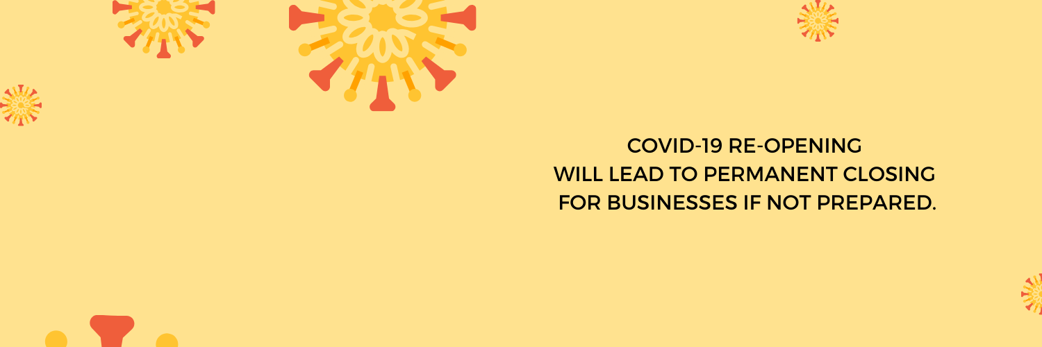 COVID-19 strand with tips on re-opening LIST for Businesses Retailers Restaurants Above Promotions Tampa FL United States US