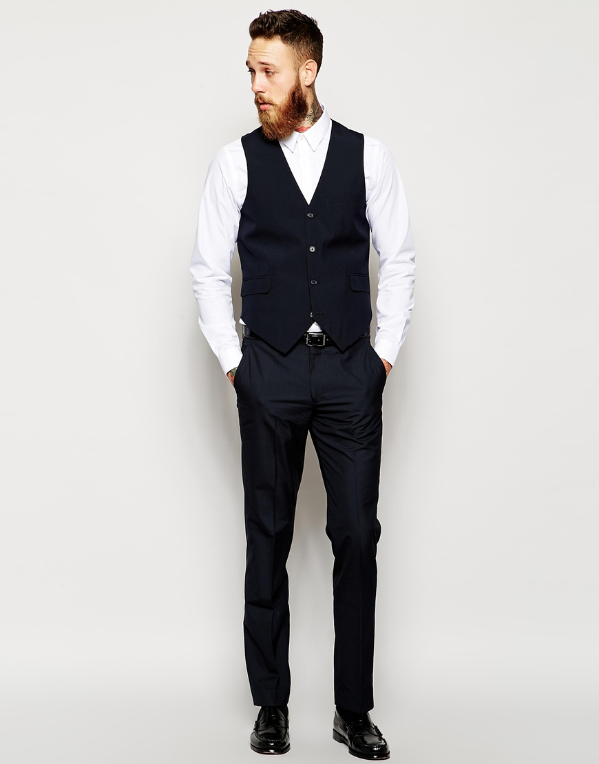 For a little bit more than the ASOS suit, you could get a made to measure suit from Indochino. Their construction is much better than ASOS, plus as long as you take your measurements correctly, the fit will be better too.