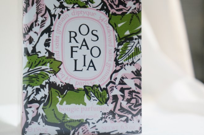 Diptyque Rosafolia packaging