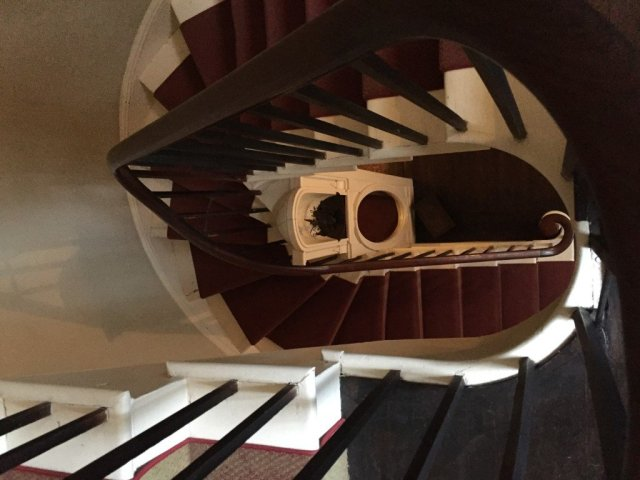 Nichols House - staircase 1