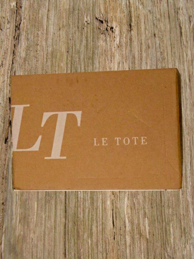 LeTote box