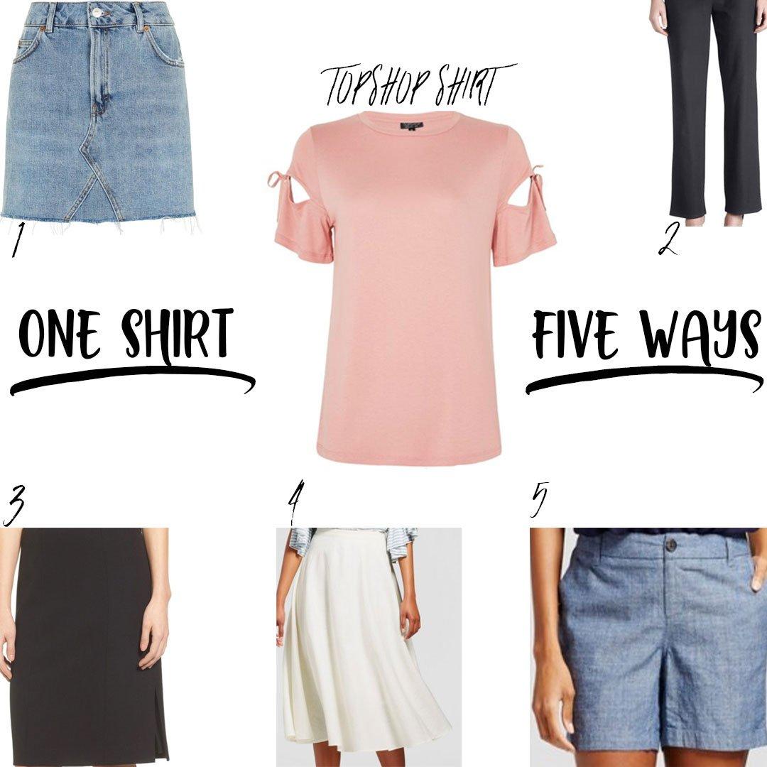 One-Shirt-Five-Ways