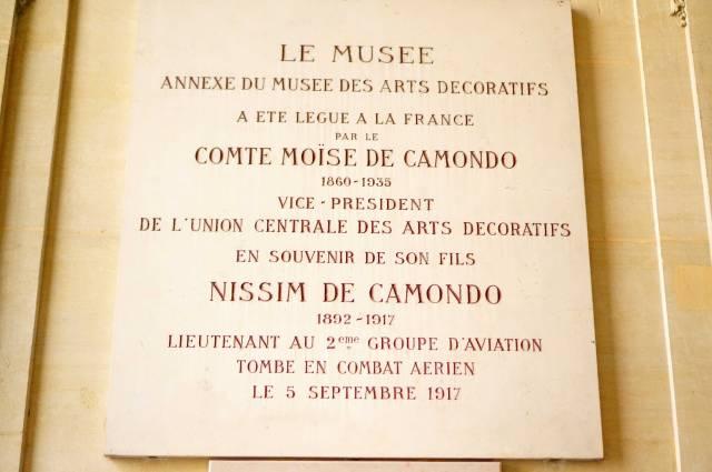 Comte-Museum-Plaque