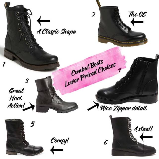 Low-end-combat-boots