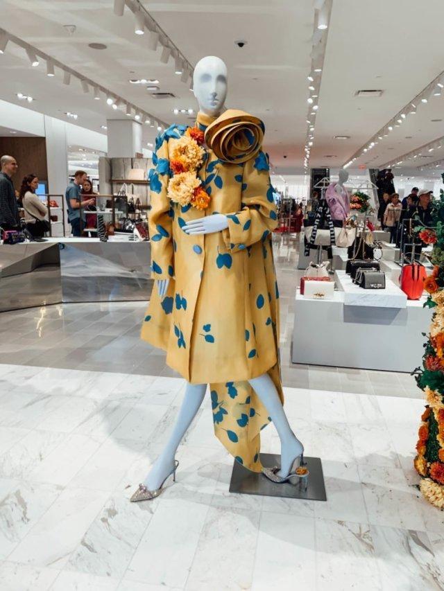 Hudson Yards-Neiman's dress