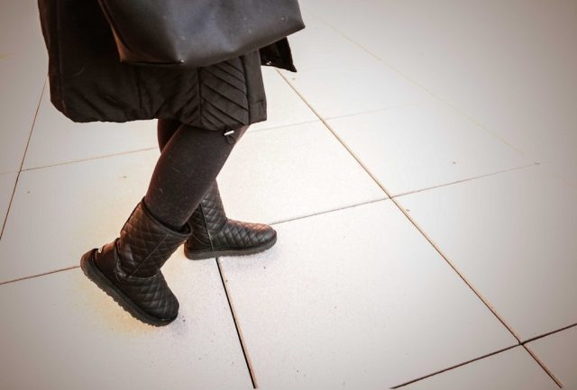 Walking in Winter Boots