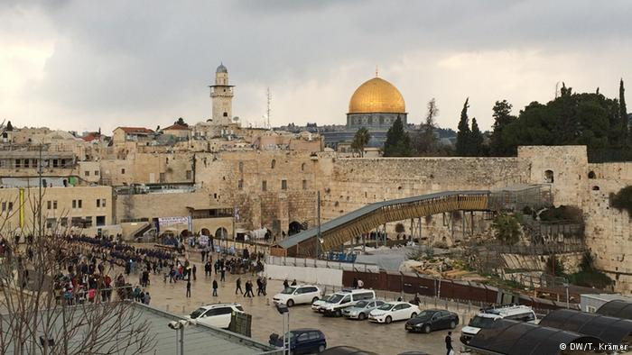 The Western Wall is part of a huge complex that includes important Jewish and Muslim holy sites.