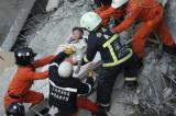 Woman pulled alive from rubble two days after Taiwan quake