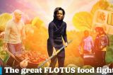 The great FLOTUS food fight