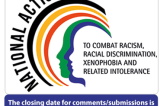 National Action Plan to combat Racism, Racial Discrimination, Xenophobia and Related Intolerance (2016 – 2021) – Draft for public consultation