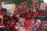 #BringBackOurGirls: Lagos State BBOG group leads Protest to the Governor's Office.