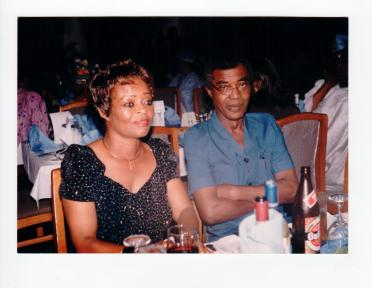 Mrs. Bosede Ransome Kuti and her husband, Dr. Beko Ransome-Kuti