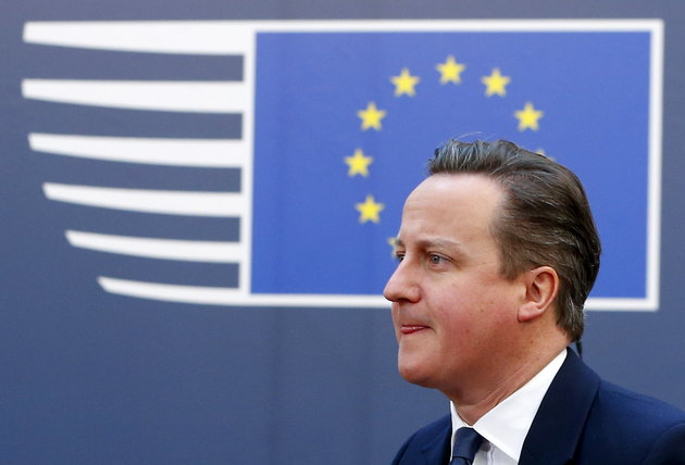 """Spearheading the """"Remain"""" campaign, Prime Minister David Cameron has assured voters that immigration can be managed from within the EU.  Photo:  Yves Herman/Reuters"""