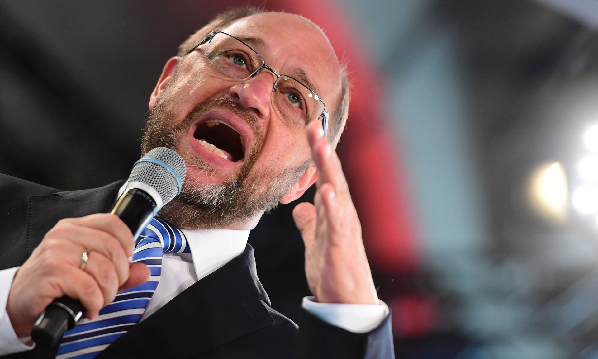 Martin Schulz said there would be consequences from Britain cutting ties with the world's biggest single market. Photograph: John Macdougall/AFP/Getty Images Facebook Twitter Pinterest