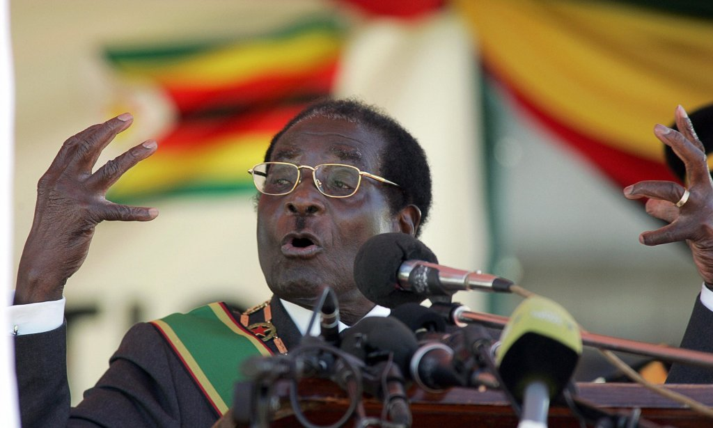 Many people in Zimbabwe fear that violence will erupt when Robert Mugabe dies. Photograph: Alexander Joe/AFP/Getty Images
