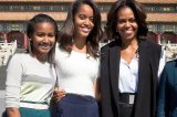 News US First Lady Michelle Obama And Daughters Visiting Morroco And Liberia As Part Of 'Let Girls Learn' Initiative