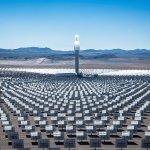 A fabulous alien metropolis': Crescent Dunes in Nevada. Photograph: SolarReserve