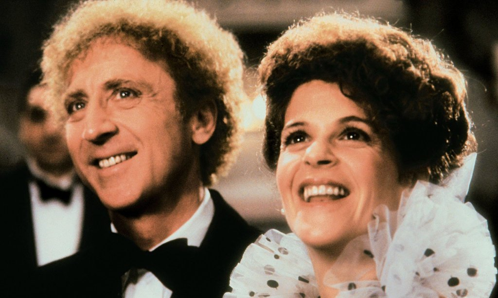 Gene Wilder and Gilda Radner, Wilder's third wife, in Haunted Honeymoon in 1986. Photograph: Alamy